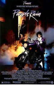 prince purple rain movie poster new 24x36 purple rain movie