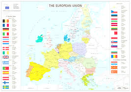 Countries Of Europe Map by Political Europe Map With Countries And Capitals Prepossessing