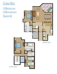 resort floor plan hilton head island coral reef resort floor plan