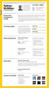 7 best images of best resume format for professionals