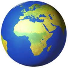 africa map emoji globe showing europe africa emoji u 1f30d