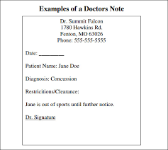 doctor note template free 100 doctors excuse letter template doctors note template 9