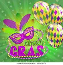 mardi gras by the mardi gras mask design background stock vector 361646738