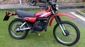 moto dt 175 yamaha youtube fotos motos pinterest
