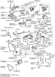 toyota 4a fe engine repair manual 100 images 4afe engine with