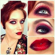 halloween eyelashes u2013 dark halloween makeup w spider web eyelashes
