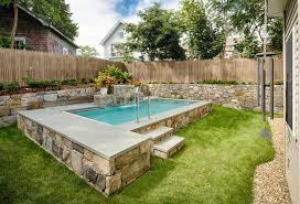 Pool Ideas For A Small Backyard Small Swimming Pool Designs Small Swimming Pool Designs Ideas
