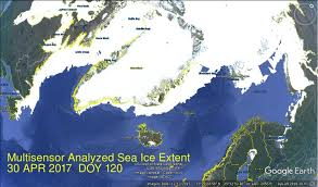 Barents Sea Map Barents Sea Grows Ice In May Science Matters