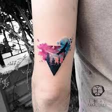 die besten 25 aquarell tattoo ideen auf pinterest aquarell