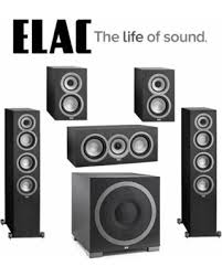 Bookshelf Speaker Sale Fall Sale Elac 5 1 Speaker System With Uf5 Floorstanding Speakers