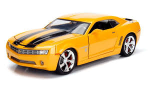 chevrolet camaro transformers jada toys studio series hollywood rides bumblebee 2006 and 1977