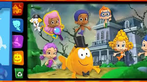 bubble guppies halloween party best cartoon for kids 2015