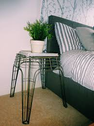 Zara Home Side Table How To Build A Headboard Using Wallpaper U2014 The Room Alive
