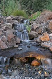 the pondless waterfall wall mounted garden ponds indoor interior