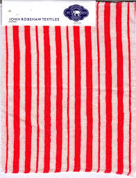 Red White And Blue Bathroom Interior Attractive Look Of Red And White Striped Shower Curtain