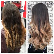 black hair to blonde hair transformations blonde ombre balayage transformation with dark natural root by