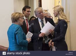 donald trump kw president donald trump talks with german chancellor angela merkel