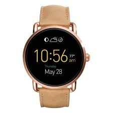 best gifts of 2016 fossil q wander leather strap digital smart watch rank u0026 style