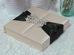 box wedding invitations item code hi2014 luxury gate fold silk box wedding invitation with