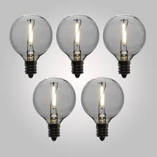Shatterproof Light Bulbs Led Filament Light Bulbs G40 Globe Vintage Look Energy Saving