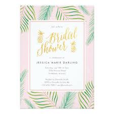 tropical wedding invitations tropical bridal shower invitations announcements zazzle