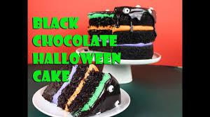 black chocolate halloween cake vegan gretchen u0027s bakery youtube