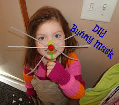 cute and easy bunny mask easter craft toddler preschool