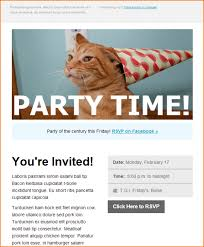 template event invitation email template send smarter email