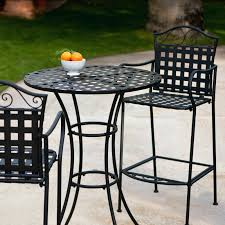 Wrought Iron Bistro Chairs Bar Height Patio Table And Chairs Living Wrought Iron Bar Height