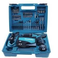 makita hp457dwe 18v 1 5ah cordless hammer drill driver full set