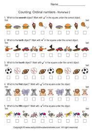 ordinal numbers worksheets ordinal numbers worksheets 2