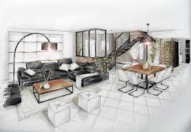 deco cuisine salle a manger réalisations aménagement et décoration d un salon salle à manger