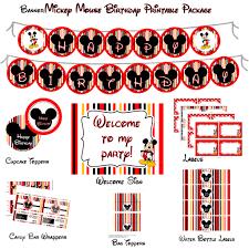 mickey mouse printable birthday invitations mickey mouse birthday menu mickey birthday party party