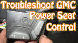 diy blazer gmc jimmy power seat control diagnostics and repair