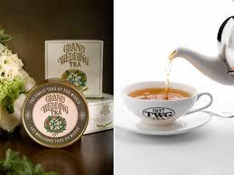 wedding tea twg grand wedding tea dubai mall