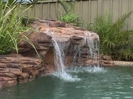 rock waterfalls for pools swimming pool waterfalls 9 models artificial rock waterfall