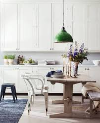 renovation inspiration colorful kitchen lighting apartment therapy