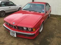 bmw m635csi for sale uk e24 bmw m6 usa lhd spec s88 engine for sale 1988 on car and