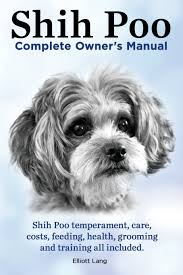 shi poo shih poo shihpoo complete owner s manual shih poo temperament