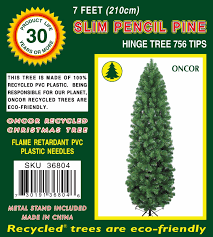 20 7ft pencil christmas tree pre lit christmas trees ebay