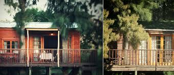 luxury tree houses vindoux guest farm