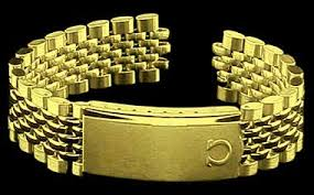 gold omega bracelet images Omega constellation collectors view beads of rice on ebay with a jpg