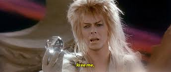 David Bowie Labyrinth Meme - david bowie movies gif find download on gifer