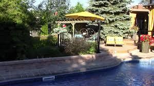 backyard landscaping ideas cabana designs rainbow landscaping