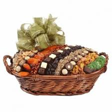 condolence baskets chocolate dried fruit nut basket large shiva
