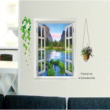 online shop ay893 scenery diy vinyl wall stickers for kids rooms