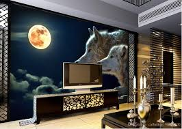 100 3d wall mural green sunshine forest elk rodeo living 3d wall mural custom any size popular night view of the wolf tv wall mural 3d