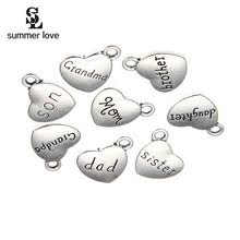 engraved charms online get cheap engraved charms aliexpress alibaba