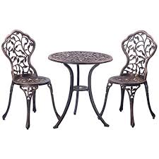 Cast Aluminum Patio Table And Chairs Best 17 Aluminum Patio Furniture Sets