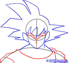 draw dragon ball kai step step dragon ball